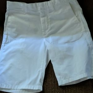 "Mens white J. Crew shorts size 31"" waist with pock"